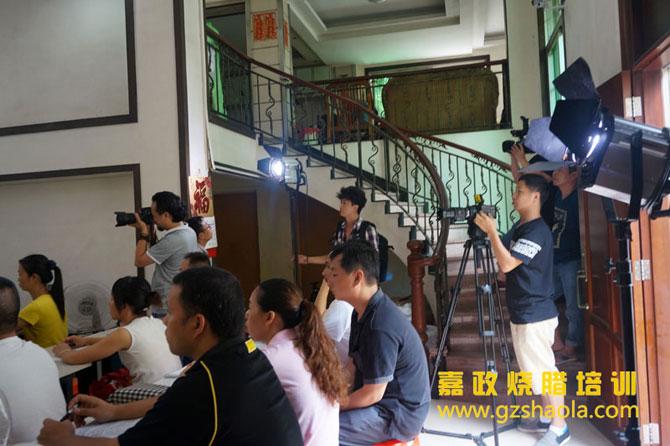 广东电视台慕名而来采访