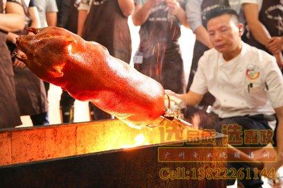 广式烧乳猪烤猪的做法简介