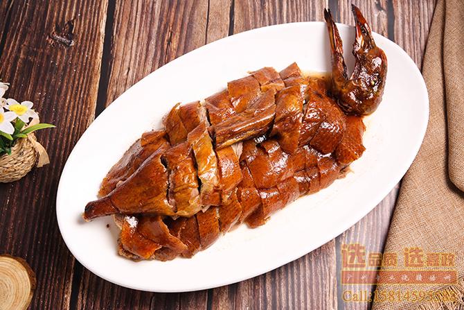 广式烧腊菜式:深井烧鹅