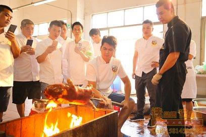 广东烧乳猪培训烧烤