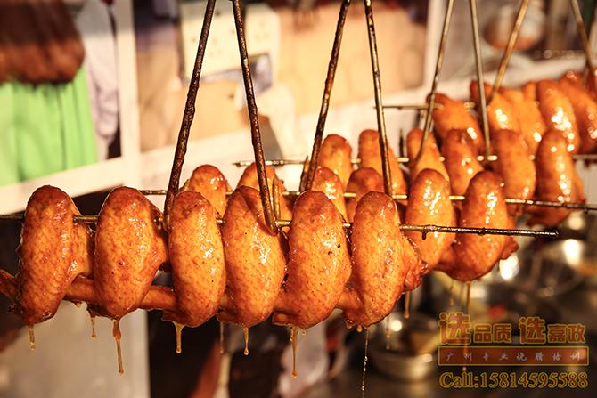 """广东人都爱吃的蜜汁烧鸡翅怎么做,广式烧腊"""""""